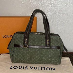 Authentic Louis Vuitton khaki mini lin Josephine